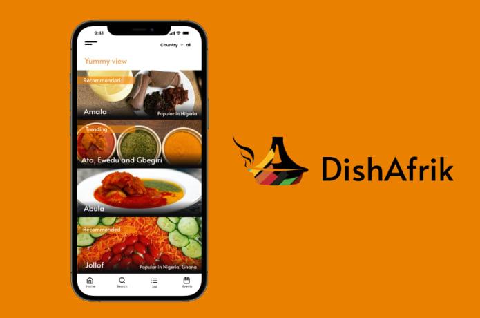 DishAfrik, la app gastronómica que recoge recetas de los 54 países de África