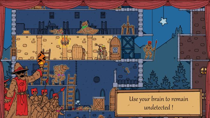Moonfang, un original juego de puzles donde deberás huir de una turba enfurecida