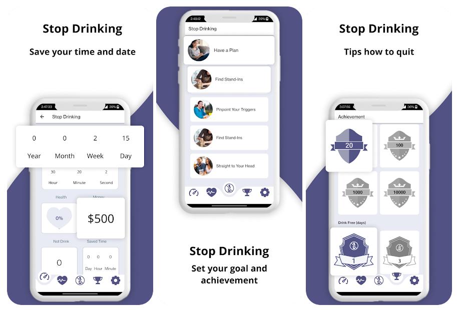 Stop Drinking, una aplicación que te ayuda a dejar de beber alcohol